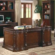 office desks wood. coaster tucker collection traditional style rich brown finish wood office desk desks