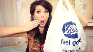 big beauty haul zoella