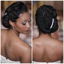Natural Formal Hairstyles Inspiration For Natural Hair Brides Braided Wedding Hairstyles