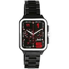 diamonds international designers > dolce gabbana > dolce dolce gabbana men s black geronimo watch loading zoom