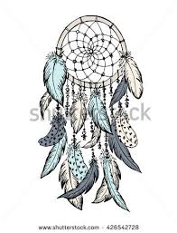 Dream Catchers Sketches Dream Catcher Sketch Hand Drawn Vector Stock Vector 100 9
