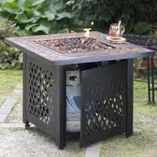 steel propane fire pit table propane patio fire pit p28