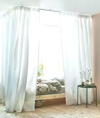 Four Poster Bed Curtains Bedroom Decoration Curtain Over Veil Kids ...