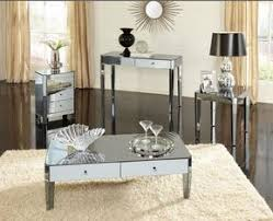 Modern mirrored furniture Mirrored Tv Cabinet Mirror Furniture Set Modern Mirrored Coffee Tables In Living Room Mirror Furniture Set