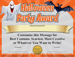 Costume Contest Certificate Template Free Printable Certificate For Your Home School Or Office