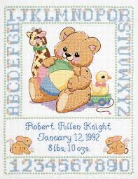 Cross Stitch Patterns For Babies