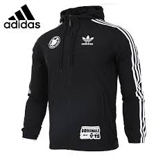adidas windbreaker mens. original new arrival 2017 adidas originals badge windbreak men\u0027s jacket hooded sportswear(china) windbreaker mens