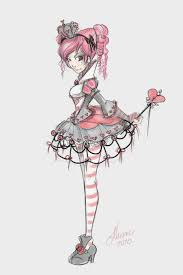 Lolita Teen Queen of Hearts by NoFlutter.deviantart.com on @deviantART