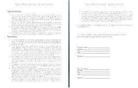 Nda Template Free Download Free Form Template Basic Simple Agreement Basic Document