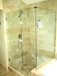 custom glass shower enclosure cost doors how much door installation frameless replacement the of
