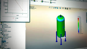 Solidworks Simulation Pressure Vessel Design Solidworks Simulation Save Time With Simplification