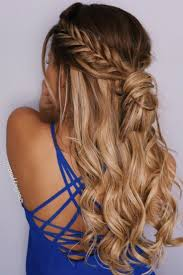 Prom Hair Style Up best 25 half up curls ideas half up half down 1239 by wearticles.com