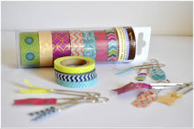 arty s getaway diy 5 minutes crafts fun and pretty washi tape bookmarks
