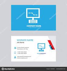 Computer Card Design Benefits Of Computer Business Card Design Stock Vector