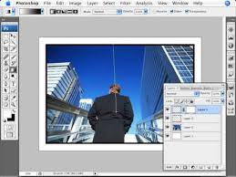 Learn Photoshop How To Add Line Frames To Photos Youtube