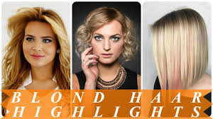 Blond Haar Met Highlights En Lowlights