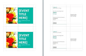 4 Per Page Postcard Template – Francistan Template