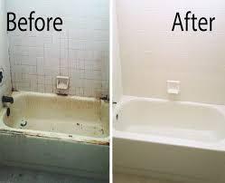 bathroom tub reglazing how to resurface bathtub refinishing todds porcelain