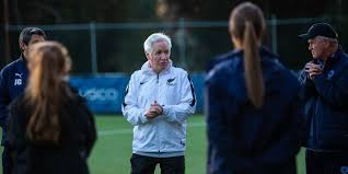 Former Matildas' coach Tom Sermanni attends Girls' Institute Training  Session - Football NSW