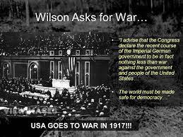 「wilson asks war」の画像検索結果