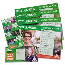Green Party Flyer Queensland Greens Party Client Story