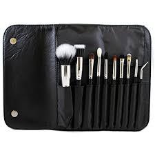 morphe brushes 10 piece deluxe face set w snap case set 696