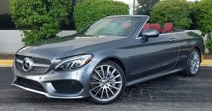 Having set the standards for luxury automobiles for almost a century, mercedes never rest on their laurels and continue to produce astounding vehicles. 2017 Mercedes Benz C300 Awd Cabriolet The Daily Drive Consumer Guide