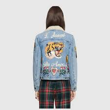 wgsn embroidered denim jacket trend gucci z 1