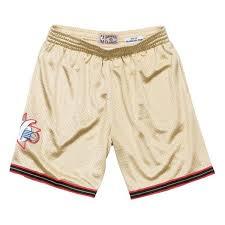 Nba Swingman Shorts Size Chart Details About Mens Mitchell Ness Nba Gold Swingman Shorts Philadelphia 76ers