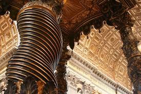 gian lorenzo bernini com gian lorenzo bernini the spiraling columns of the baldachin