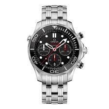 omega mens watches beaverbrooks the jewellers omega seamaster diver automatic chronograph men s watch