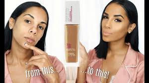 Maybelline Skin Tone Chart Maybelline Superstay Foundation Medium Tan Skin First Impression