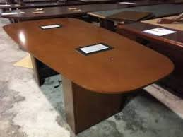 Image Medium Size Ebay Details About Used Office Furniture Used Walnut Conference Room Tables