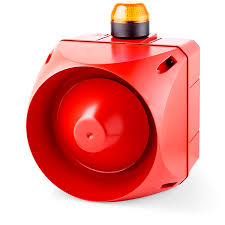 Strobe Indicator Light Acx Multi Tone Alarm Sounder With Led Strobe Light Indicator