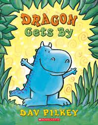 book dragon gets by by dav pilkey
