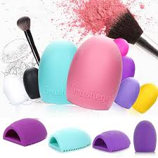 egg cleaning glove makeup washing brush scrubber board cosmetic brush cleaners