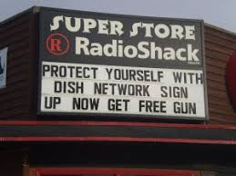 radio shack free gun promotion lets just pray that the dish network installers dish network installers