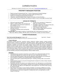Apartment Property Manager Resume Professional User Manual Ebooks