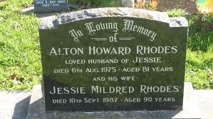Alton Howard Rhodes (1893 - 1975) - Genealogy