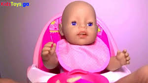 toys r us baby born pink high chair baby doll furniture baby born feeding diaper change