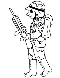 Soldier Coloring Pages Soldier Coloring Pages Soldier Coloring Page