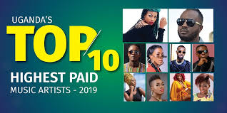 Ugandas 10 Highest Paid Music Artists In 2019 Ceo East Africa