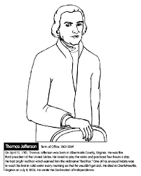 Small Picture US President Thomas Jefferson Coloring Page crayolacom