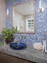 Bathroom Mirrors Amazing Blue Mosaic Bathroom Mirror Style Home