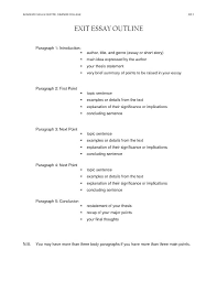 Outline Essay Example Format Cause And Effect Topics Examples For C
