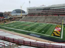 Umd Football Seating Chart Maryland Stadium Section 211 Rateyourseats Com
