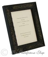 distressed black shabby chic vintage picture frame 7