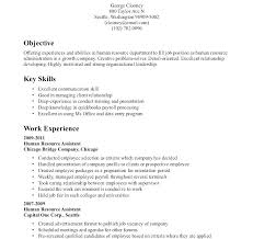 High School Resume Sample No Experience Objective For Graduate
