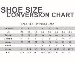 Australia Vs Us Shoe Size Chart Shoe Size Chart Rebelwithcause