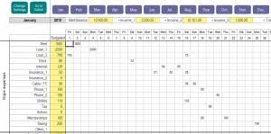 finances excel template excel personal expense tracker my excel templates